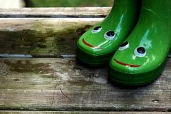 2 szczęśliwe stopy Obrazy Stock