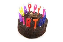 2 szczęśliwy tort urodzinowy. Obraz Royalty Free