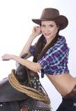 2 szczery cowgirl Zdjęcie Stock