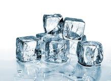 2 sześcianów lód Obraz Stock