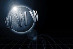 2 szeroki świat sieci royalty ilustracja