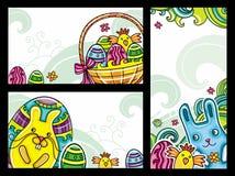 2 sztandaru Easter Obrazy Royalty Free