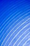 2 tända blåa kurvor Arkivbilder