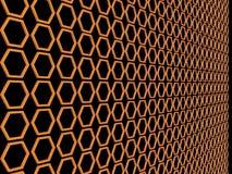 2 tło abstrakcjonistyczna pomarańcze Zdjęcie Stock