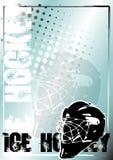 2 tło złoty hokeja lodu plakat ilustracja wektor