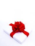 2 tło rodzajowy prezenta biel Zdjęcia Stock