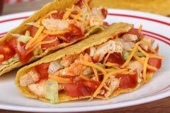 2 Tacos цыпленка Стоковые Изображения RF