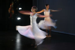 2 tancerkę. Fotografia Stock
