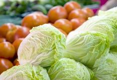 2 targowy warzywo Fotografia Stock