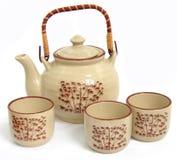2 teapot fotografia stock