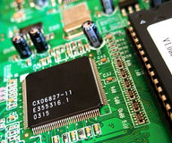 2 technologii tła Zdjęcia Stock