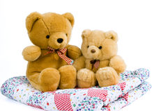 2 teddies Royalty Free Stock Photo