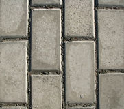 2 tegelstenar cement textur Royaltyfri Bild