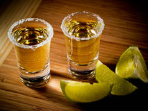 2 tequilas Стоковая Фотография RF