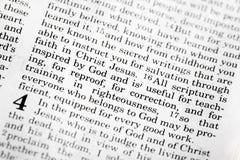 2 Timothy-3:16 Stockbild