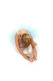 2 toe ballerina strech Στοκ φωτογραφία με δικαίωμα ελεύθερης χρήσης