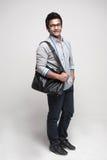 2 torba azjatykci uczeń Zdjęcie Stock