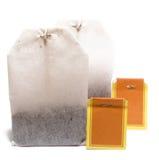 2 torby herbacianej Obrazy Royalty Free
