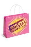 2 torby sprzedaży zakupy Obraz Stock