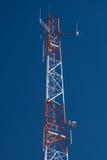 2 tower komunikacji Zdjęcia Stock