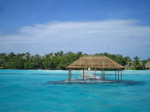 2 tsunami, malediwy fotografia stock