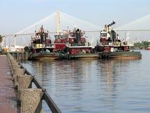 2 tugboats Στοκ Εικόνες