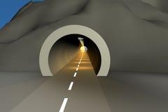 2 tunel Zdjęcia Royalty Free