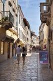 2 turister för porec för croatia istraparenzo Royaltyfria Foton