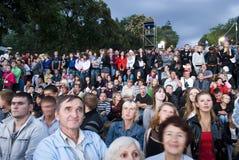 2 urodzin miasto Odessa Wrzesień Ukraine Zdjęcie Stock