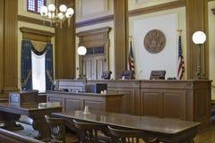 2 vädjanar uppvaktar rättssal royaltyfri bild