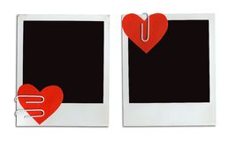 2 Valentine Cards (+clipping path, XXL) Royalty Free Stock Image