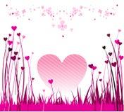 2 valentines конструкции Стоковые Фотографии RF