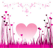 2 valentines projektu Zdjęcia Royalty Free