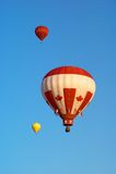 2 varma luftballonger Royaltyfria Foton