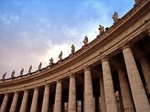 2 vatican Royaltyfria Bilder
