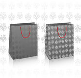 2 vector black royal bags Stock Photography
