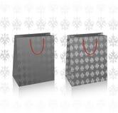 2 vector black royal bags Stock Photography