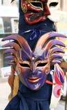 2 venetian maskeringar royaltyfri bild