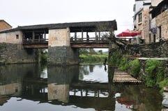 2 villages chinois Images libres de droits