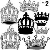 2 vol royal crown Obraz Stock