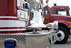 2 wóz strażacki Zdjęcie Royalty Free