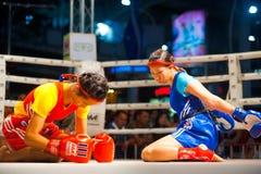 2 Wai Khru Muay тайское Стоковая Фотография RF