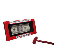 2 walut nagły wypadek Obraz Stock