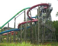 2 waterslide Obraz Stock