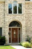 2 wejścia elegancki dom Obrazy Stock