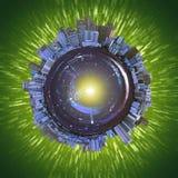 2 wersja spheriotropolis Zdjęcie Stock