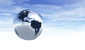 2 wersja ziemskiej chromu ilustracji