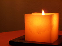 2 świece. Fotografia Stock