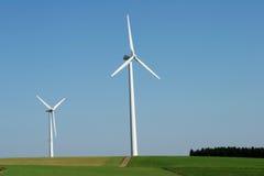 2 windenergy Стоковая Фотография