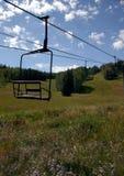 2 windy na nartach krzesło Obraz Stock